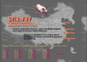 Stir-Fry, A Video Curator's Dispatches from China