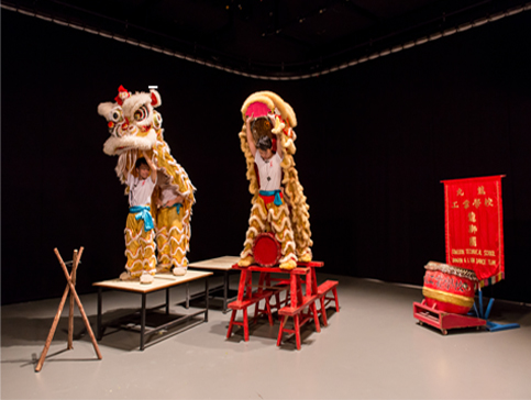 Samson Young, Muted Situation #2: Muted Lion Dance, 2014