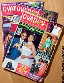 Ovation magazines