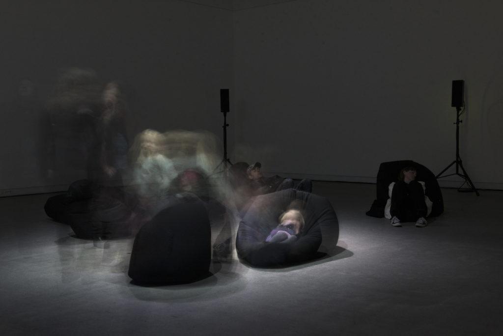 Acoustic Refuge, 2019. Ten-channel sound installation in Grenland Kunsthall, for the Grenlight District, Porsgrunn, Norway. Photo: Jana Winderen.