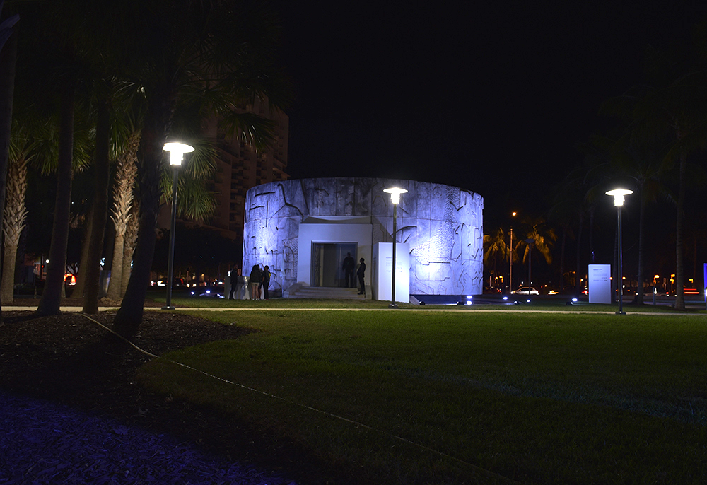 Jana Winderen hydrophone recording for the project The Art of Listening: Under Water, 2019. The twenty-two-channel sound installation at the Rotunda in Collins Park, Miami Beach was commissioned by Audemars Piguet for Art Basel, Miami, 2019. Made in collaboration with Tony Myatt. Photo: Jana Winderen