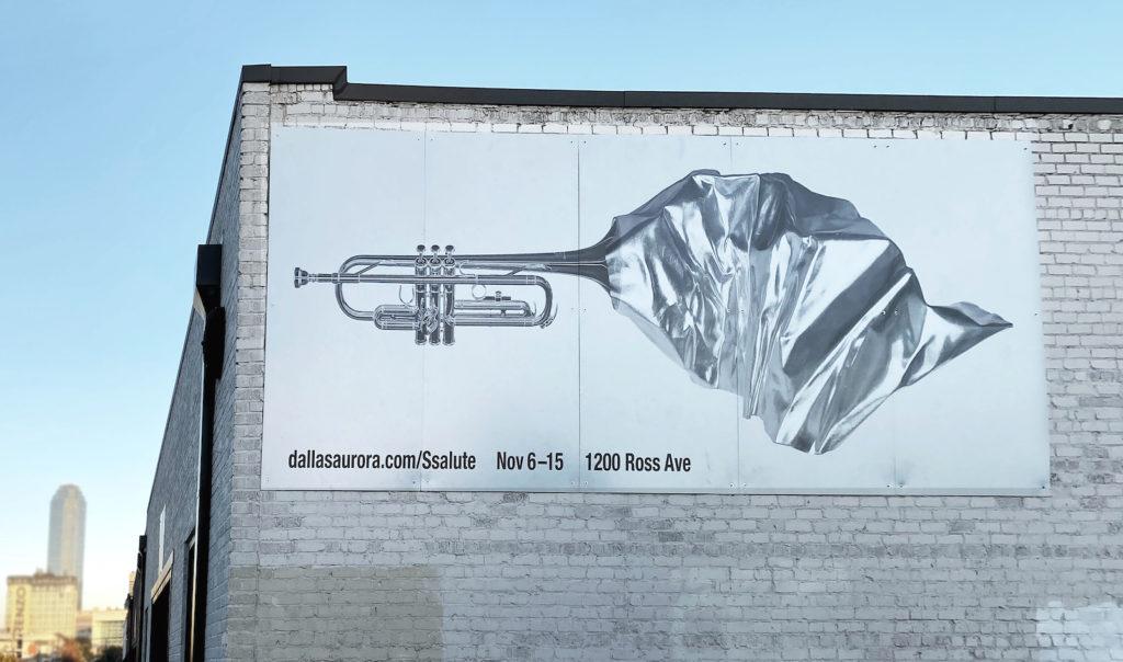 Ssalute Akard Street Billboard